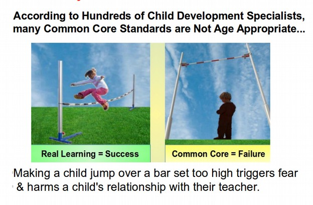 What is the BAR in child develpment coursework?